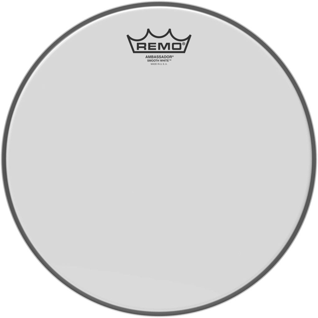 "Remo 15"" Diplomat Smooth White Drum Head"