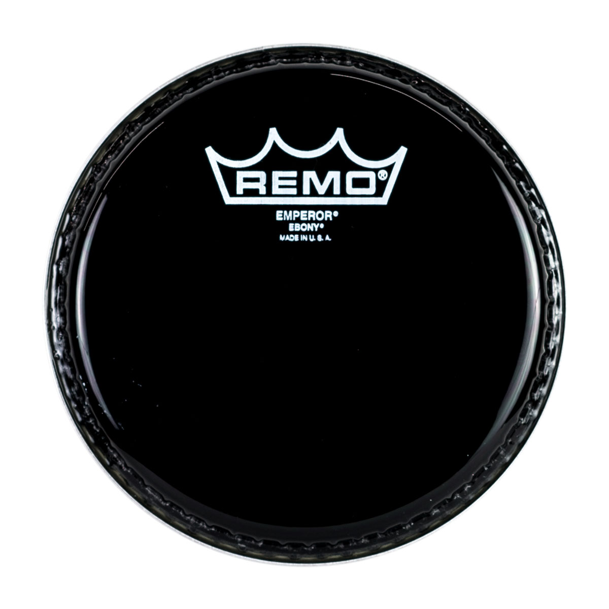 "Remo 8"" Emperor Ebony Drum Head"