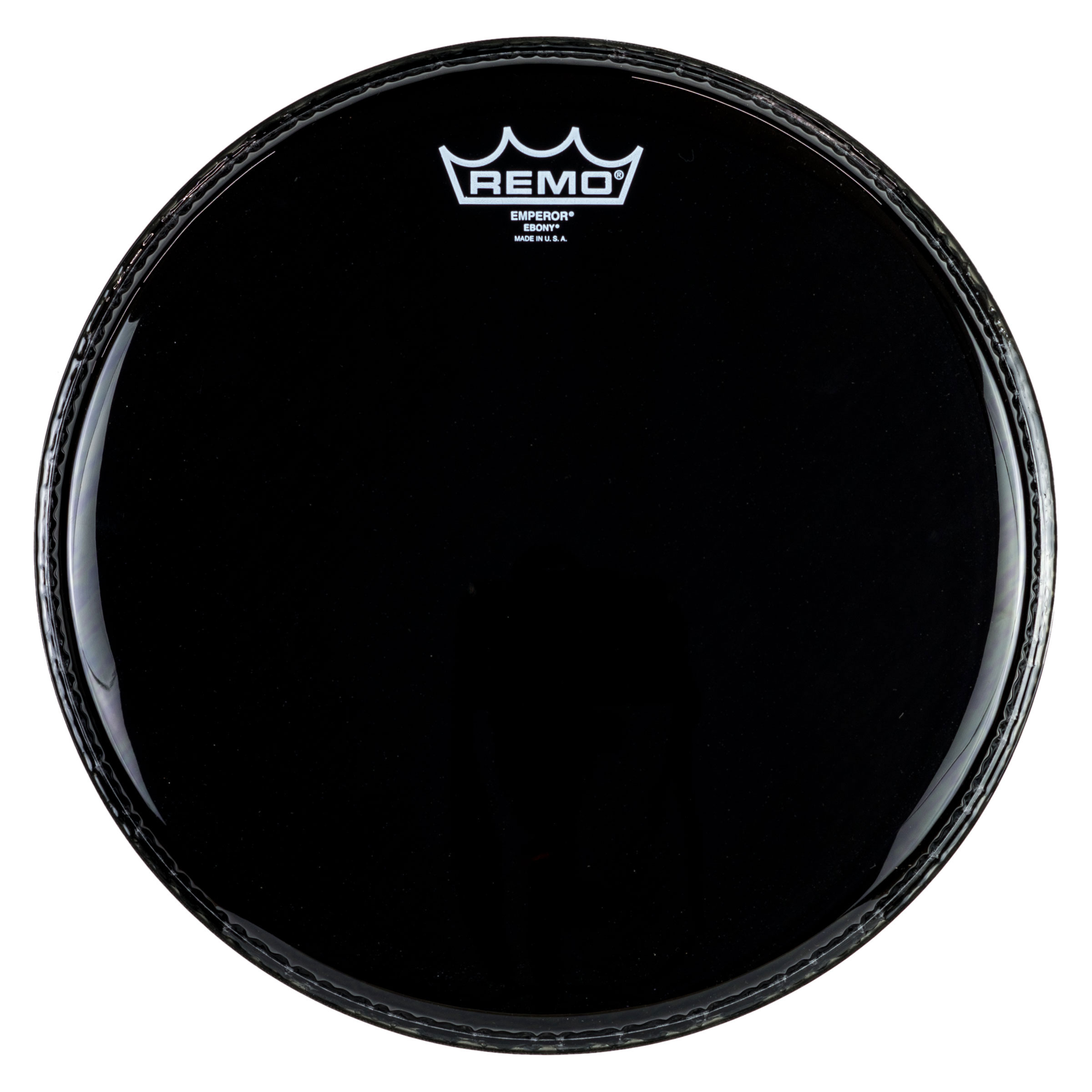 "Remo 14"" Emperor Ebony Drum Head"
