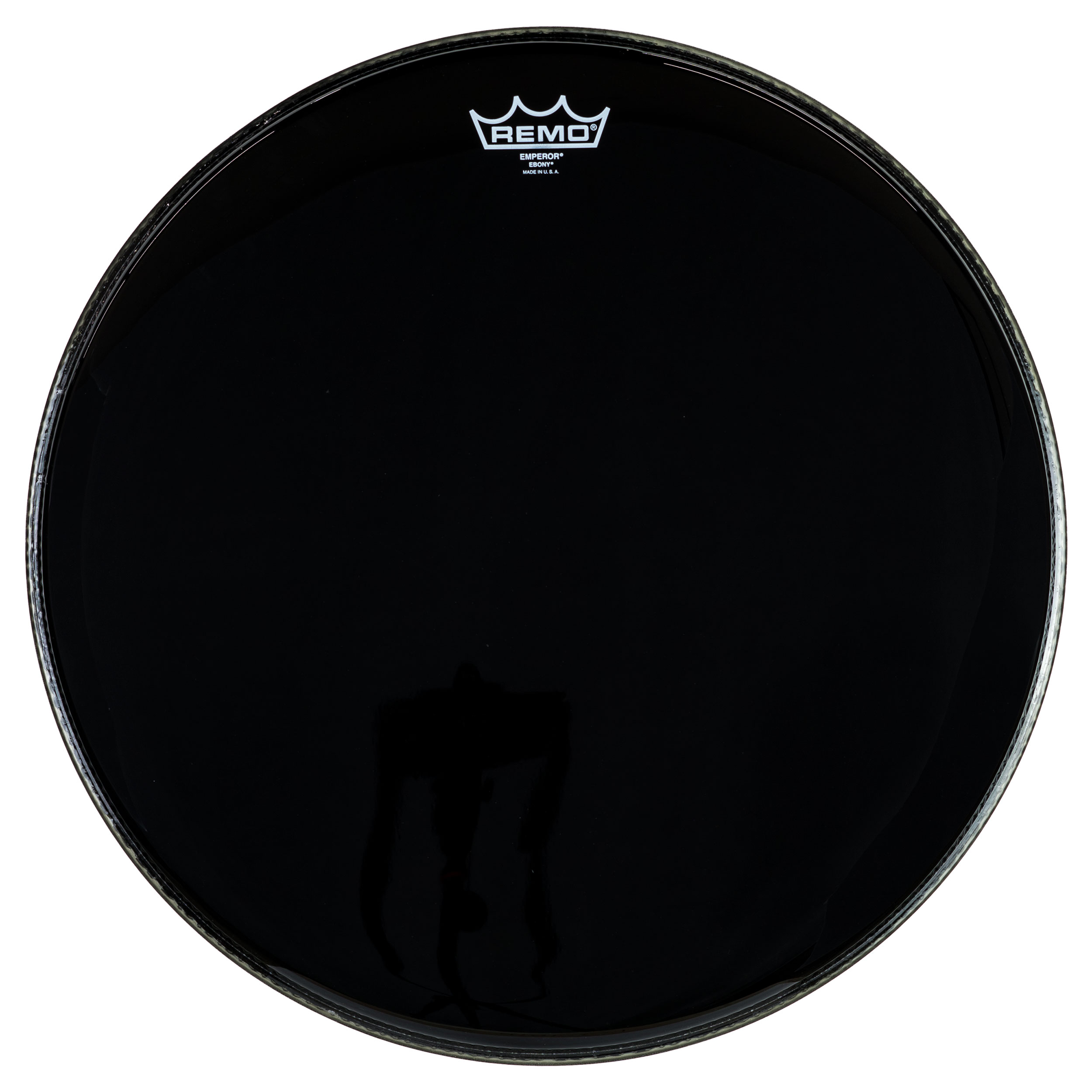 "Remo 15"" Emperor Ebony Drum Head"
