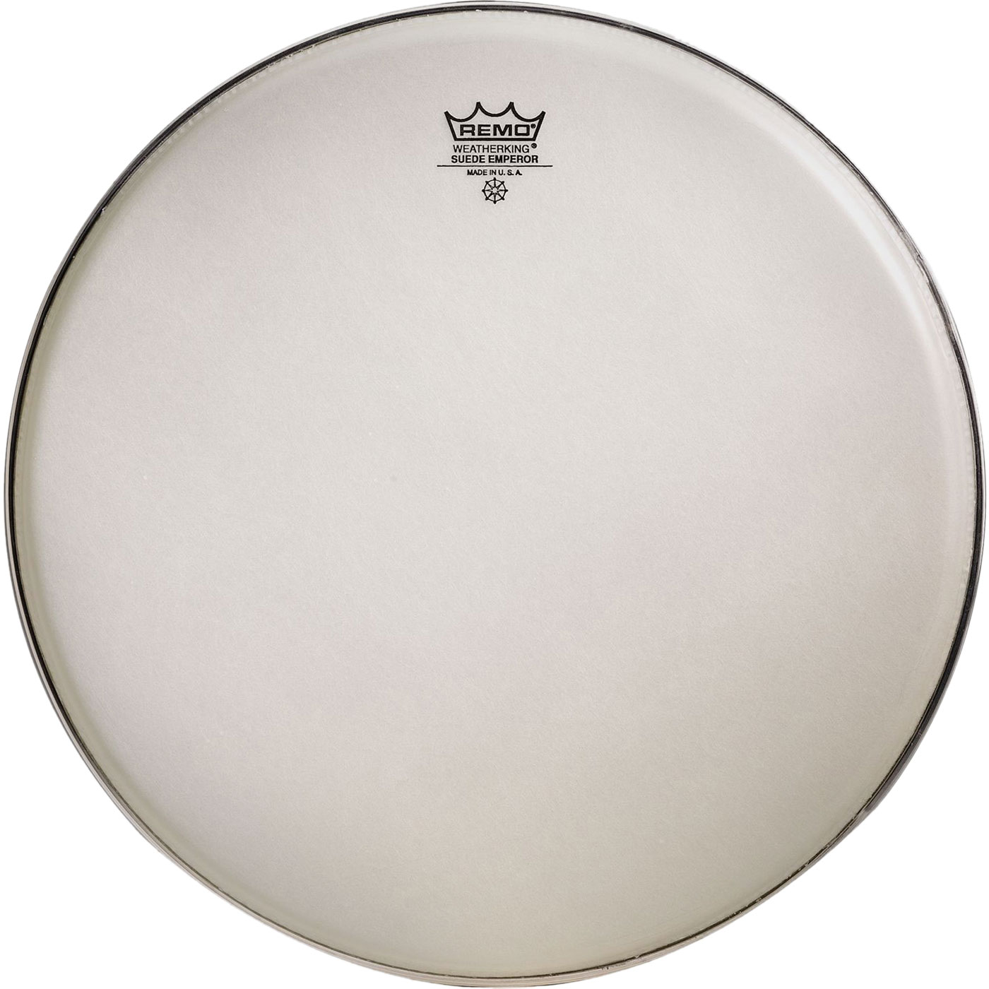 "Remo 13"" Emperor Suede Crimplock Marching Tenor Drum Head"