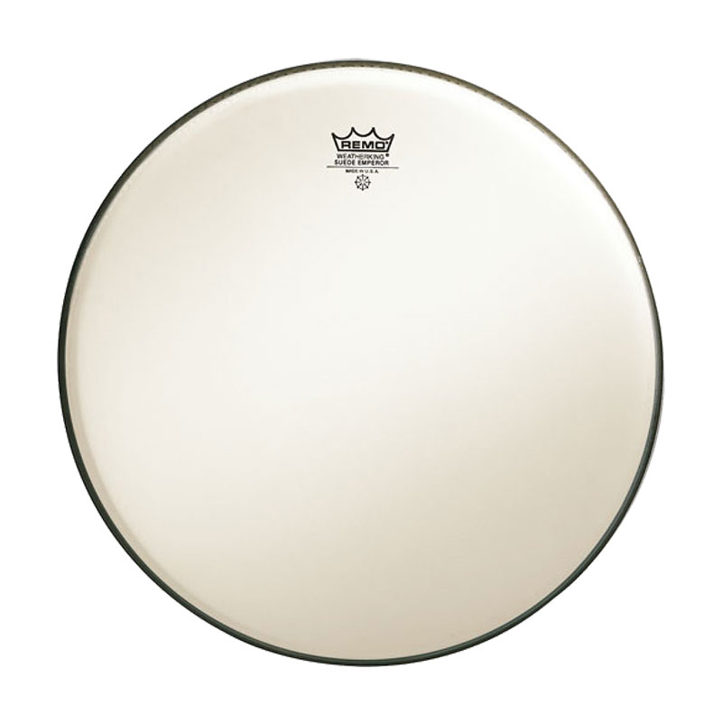 "Remo 18"" Emperor Suede Drum Head"