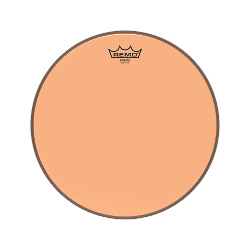 "Remo 8"" Emperor Colortone Orange Drum Head"