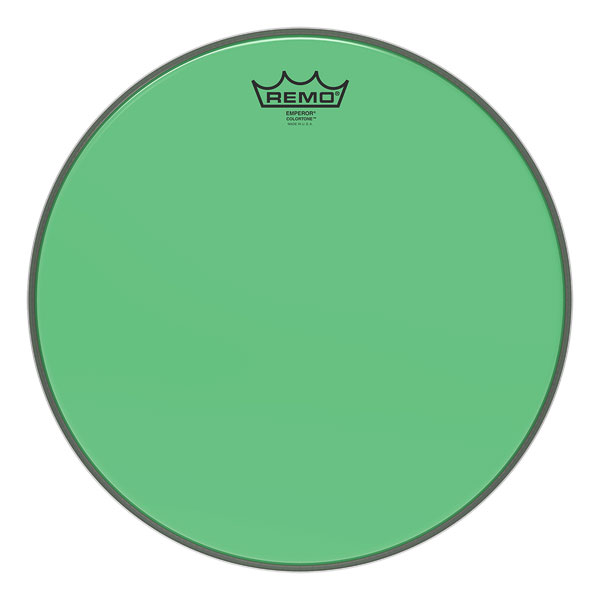 "Remo 10"" Emperor Colortone Green Drum Head"