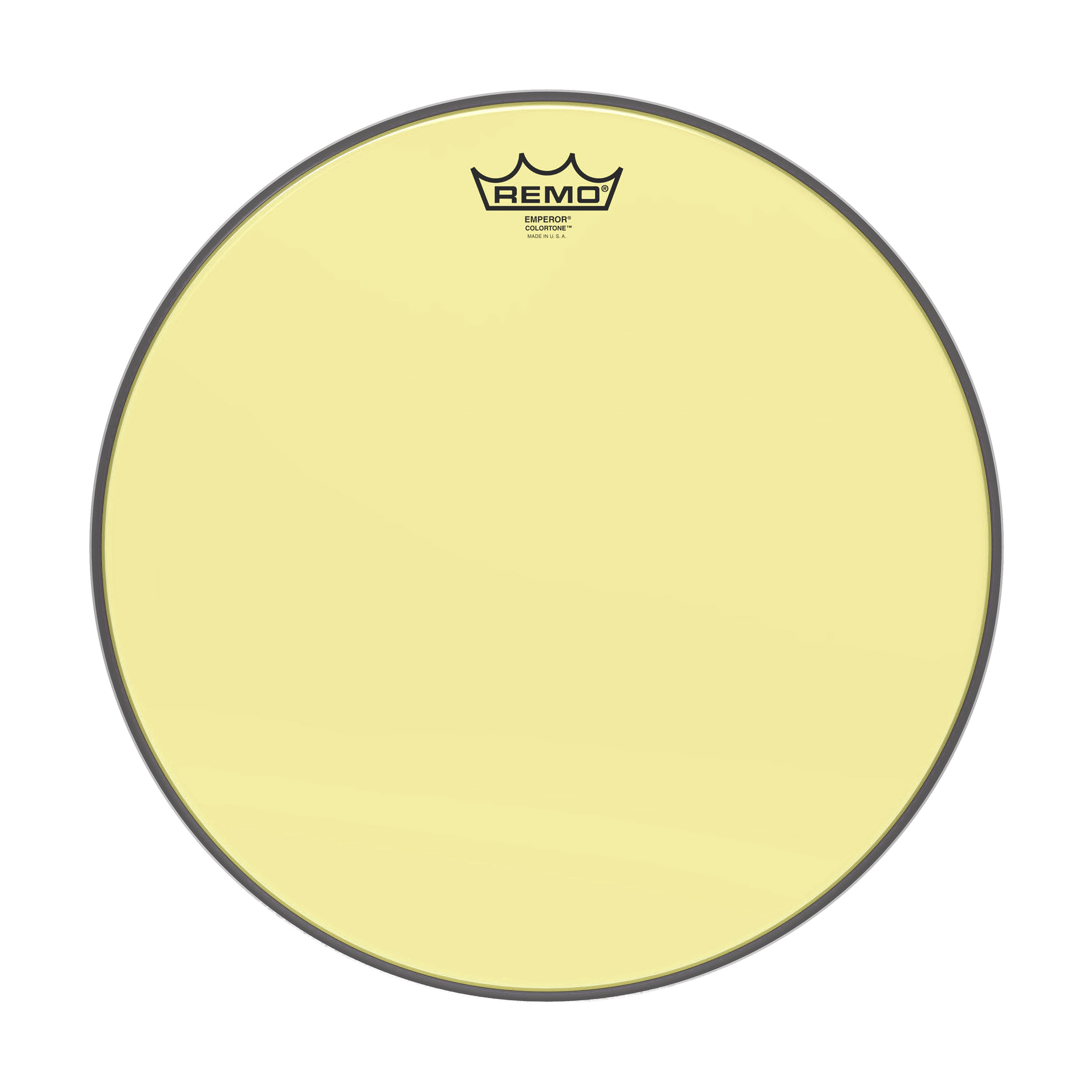 remo 15 emperor colortone yellow drum head be 0315 ct ye. Black Bedroom Furniture Sets. Home Design Ideas