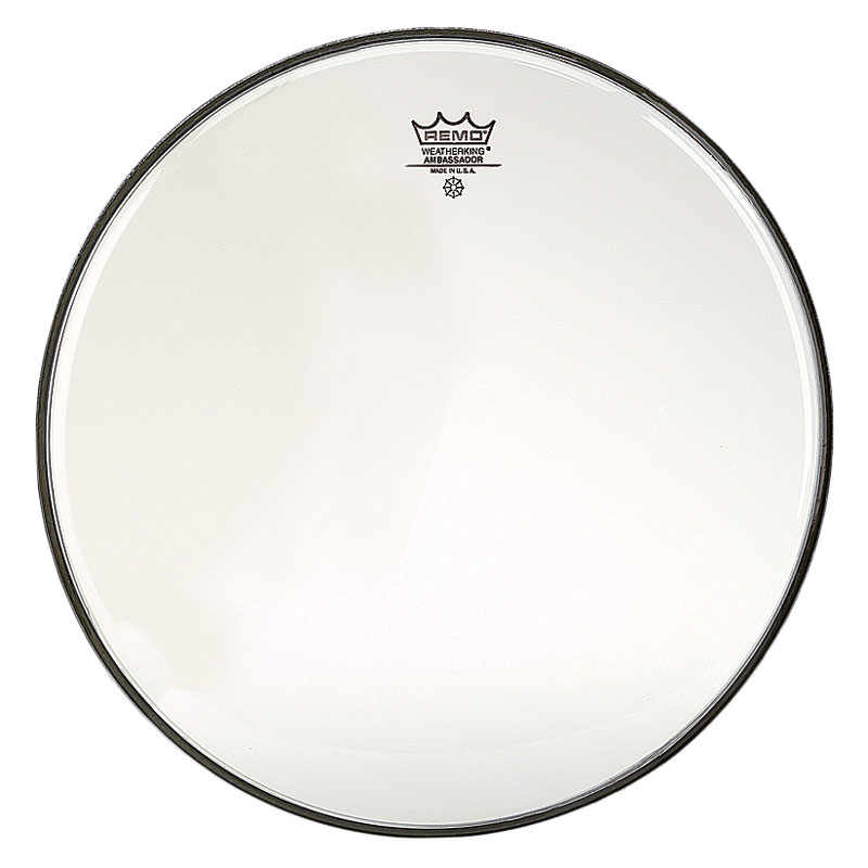 "Remo 24"" Ambassador Clear Bass Drum Head"