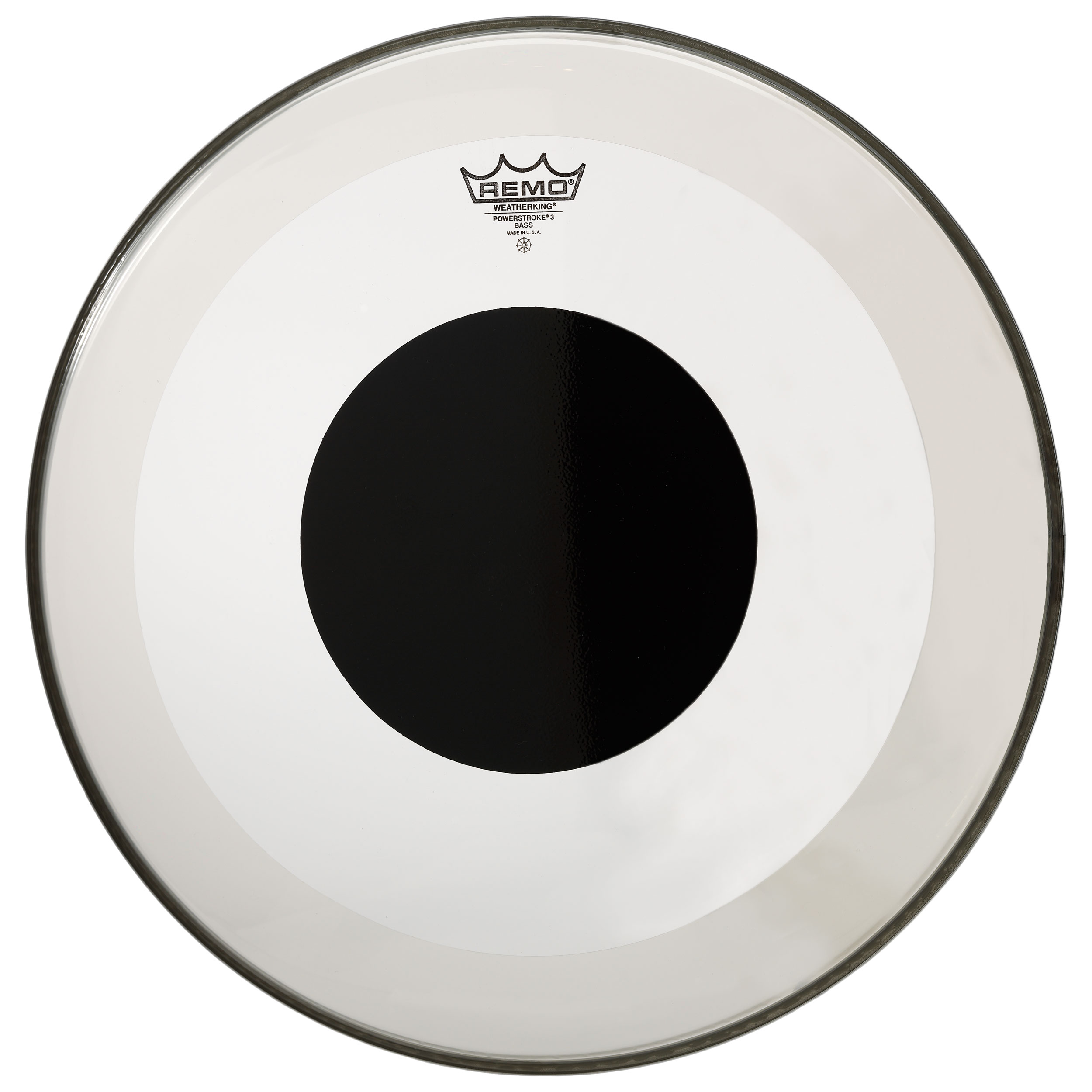 "Remo 6"" Controlled Sound Clear Drum Head with Black Dot"