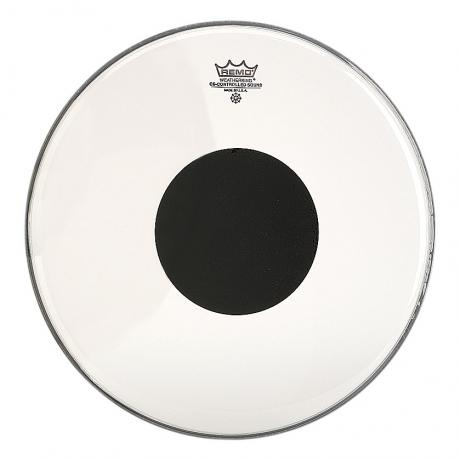 remo 28 controlled sound clear bass drum head with black dot cs 1328 10. Black Bedroom Furniture Sets. Home Design Ideas