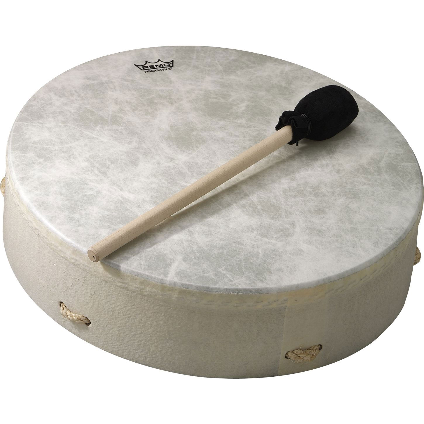 "Remo 3.5"" x 14"" Buffalo Drum with Mallet"
