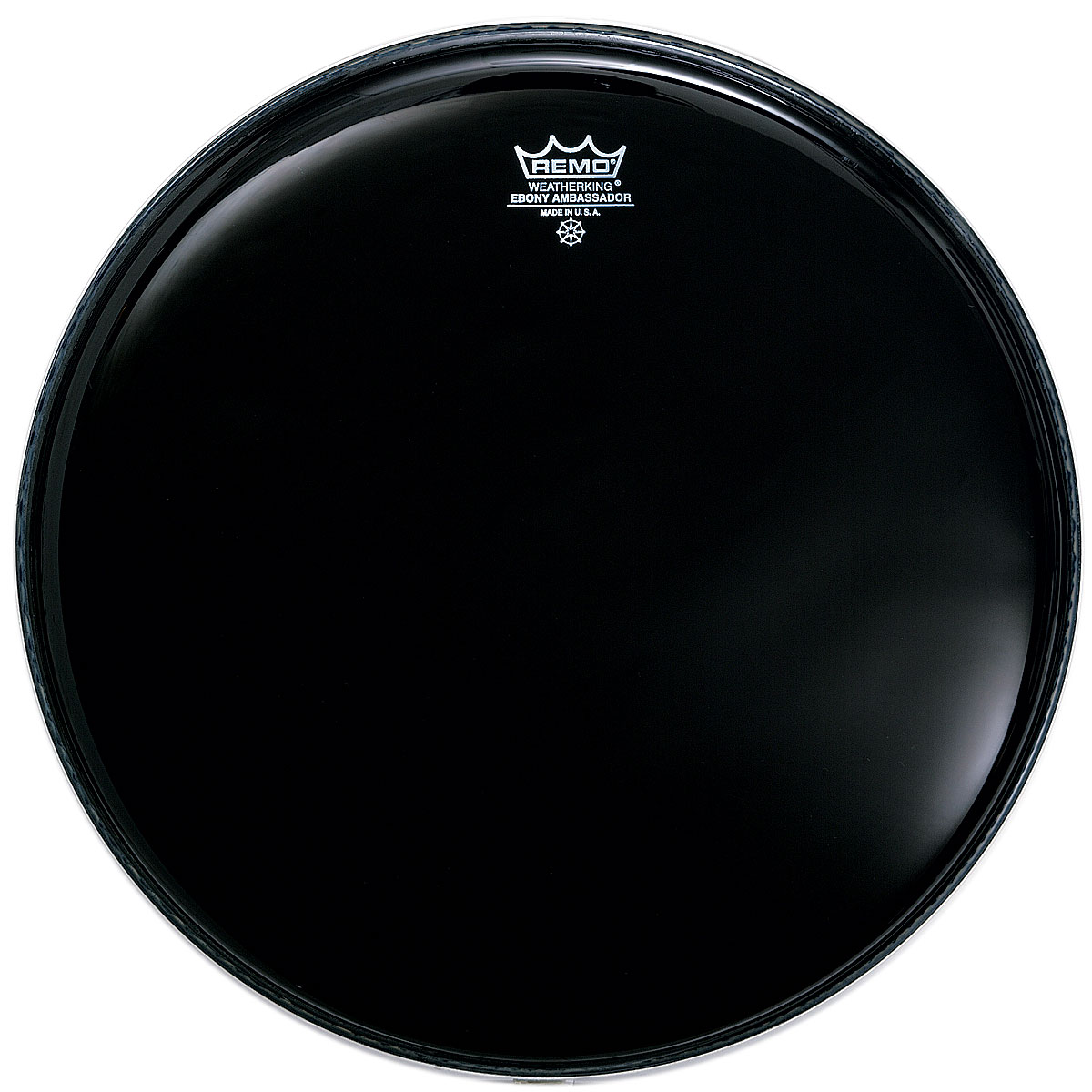 "Remo 6"" Ambassador Ebony Drum Head"