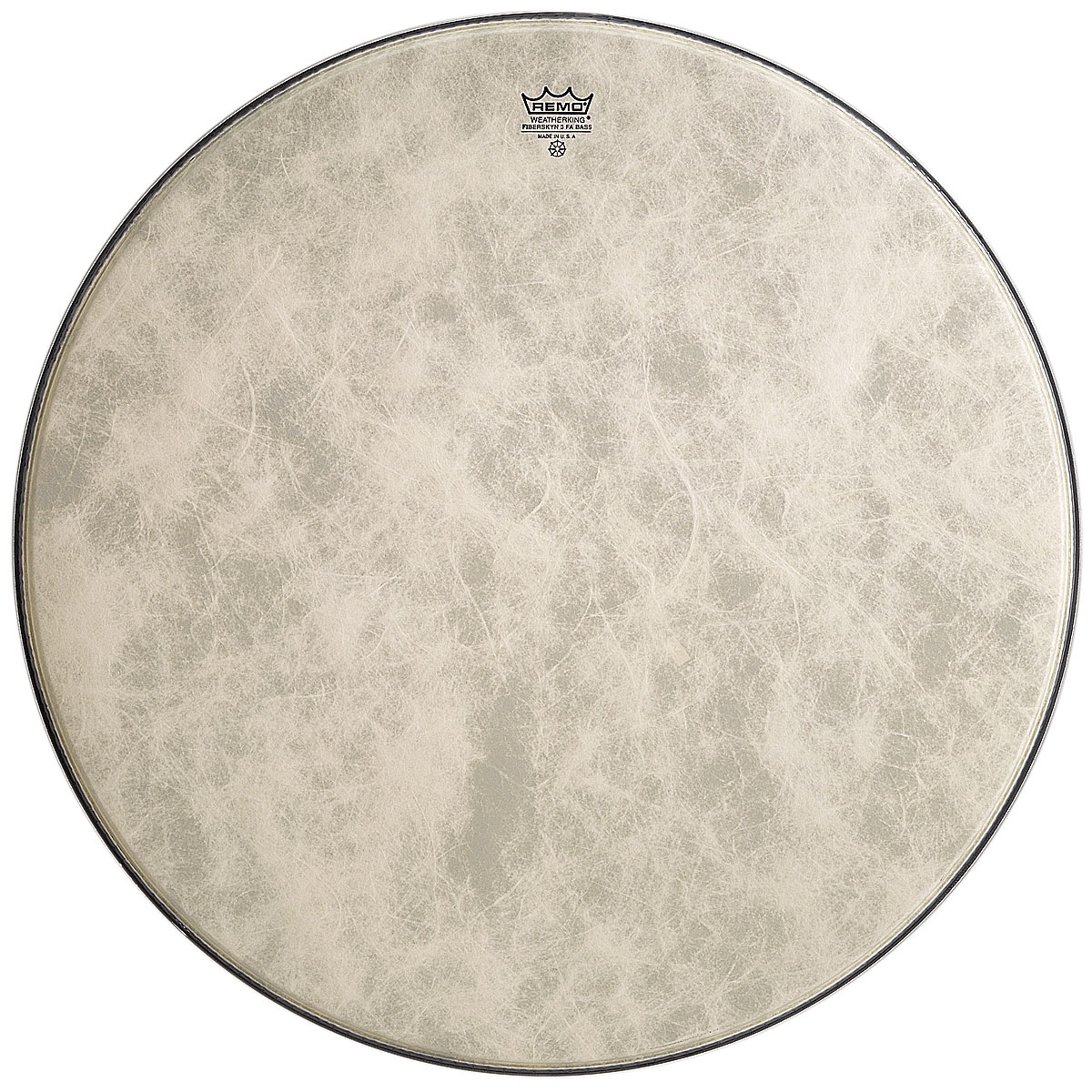"Remo 24"" Ambassador Fiberskyn Bass Drum Head"