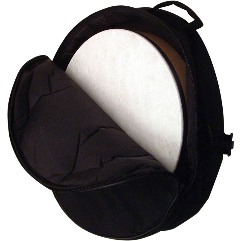 "Remo 16"" (Diameter) x 4.5"" (Deep) Black Hand Drum Bag"