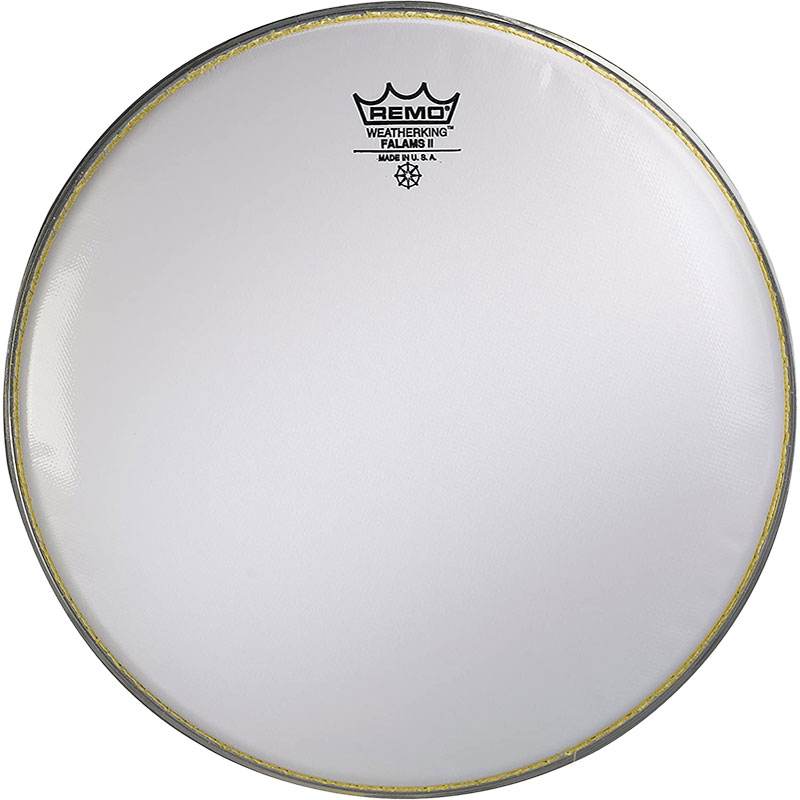 "Remo 13"" Falams Marching Snare Drum Top (Batter) Head"