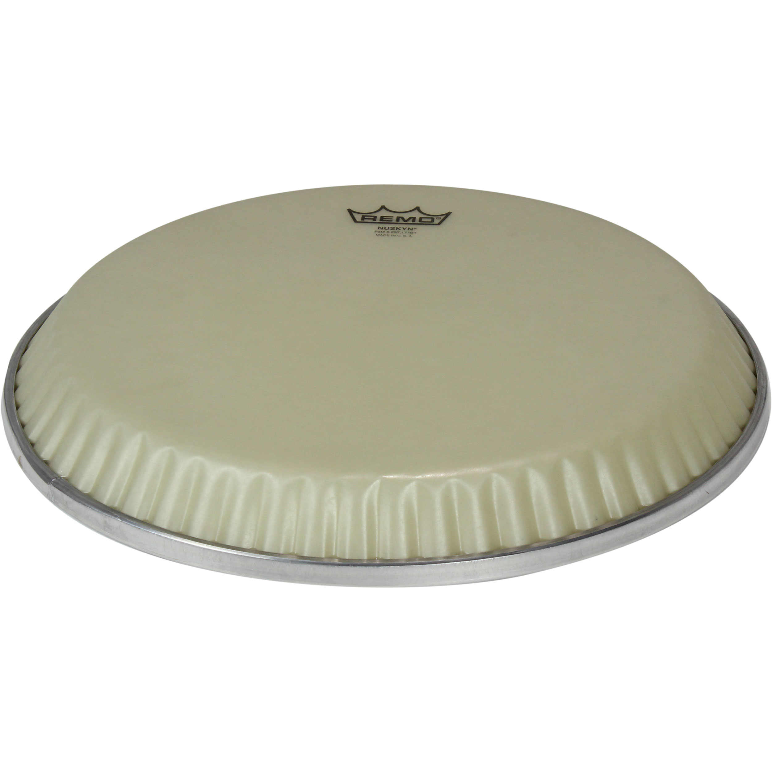 "Remo 11.06"" Low-Profile Symmetry Nuskyn Conga Drum Head (D3 Collar)"