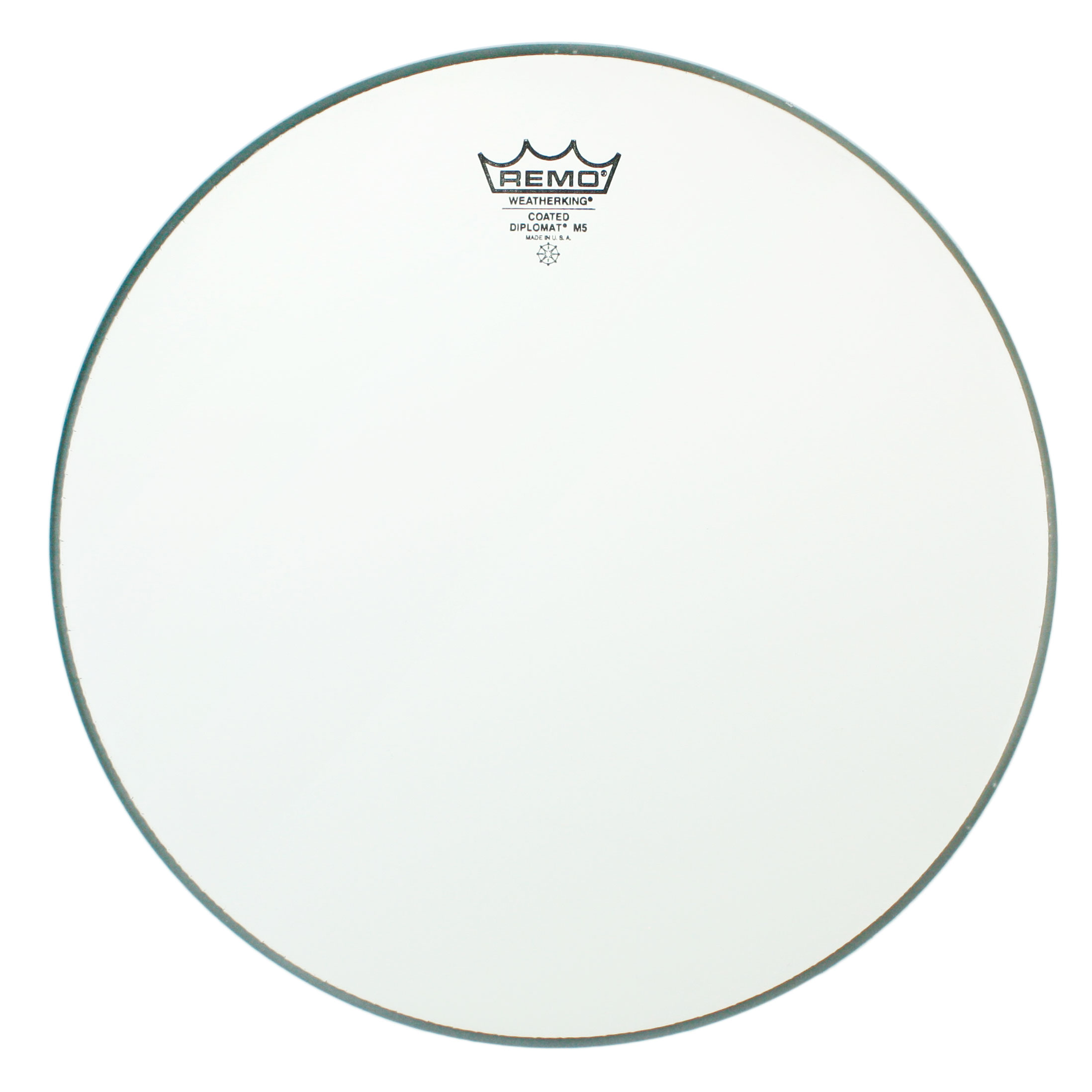 "Remo 14"" Diplomat Coated M5 Thin Concert Snare Drum Head"