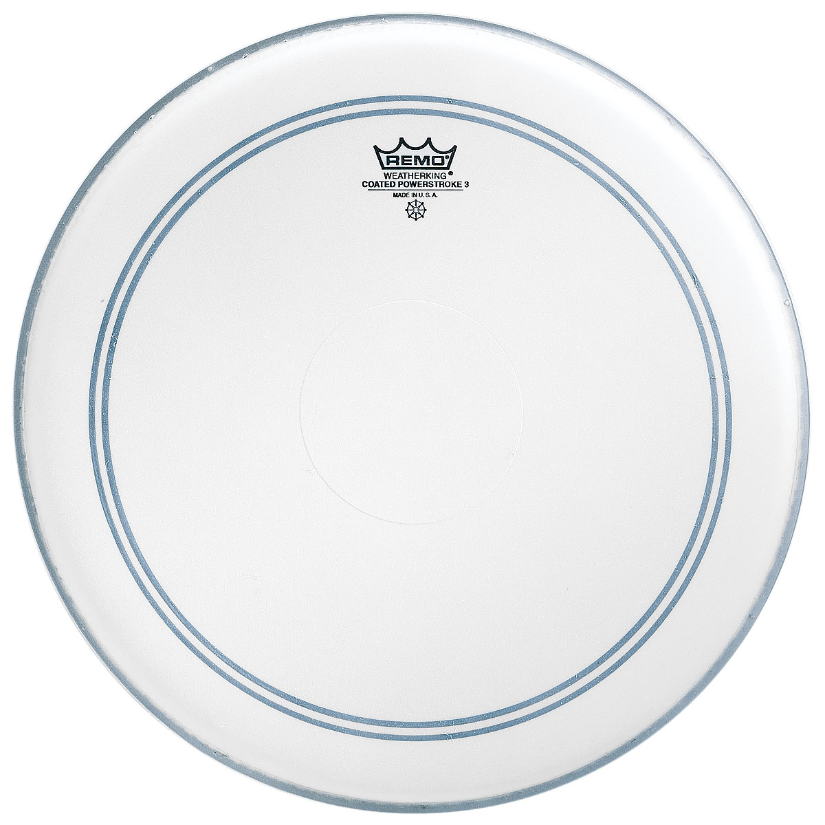 "Remo 14"" Powerstroke P3 Coated Drum Head with Clear Dot"