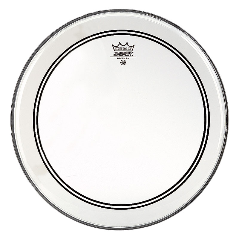 """Remo 12"""" Powerstroke P3 Clear Drum Head"""