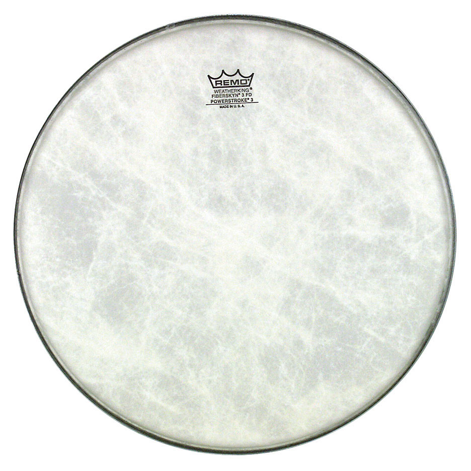 "Remo 14"" Powerstroke P3 Fiberskyn Bass Drum Head"