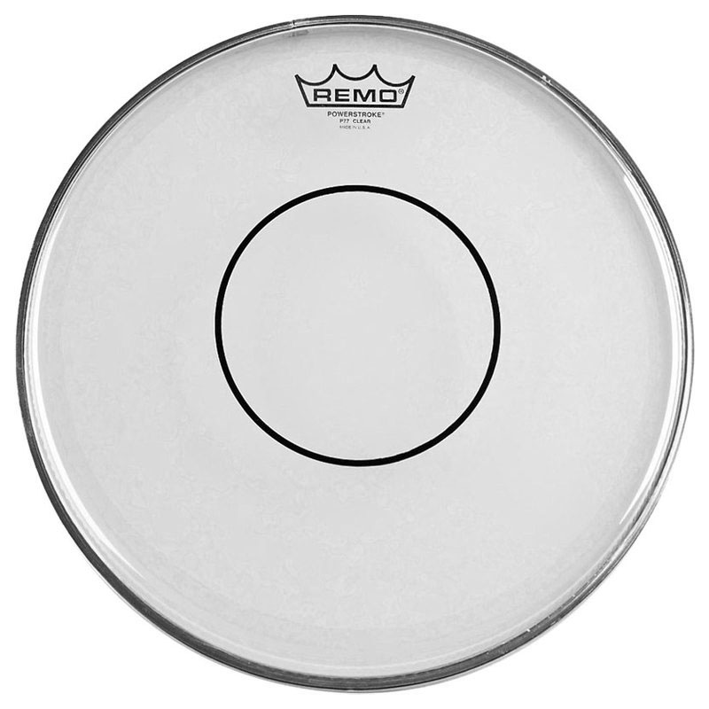 "Remo 13"" Powerstroke 77 Clear Marching Snare Drum Top (Batter) Head"