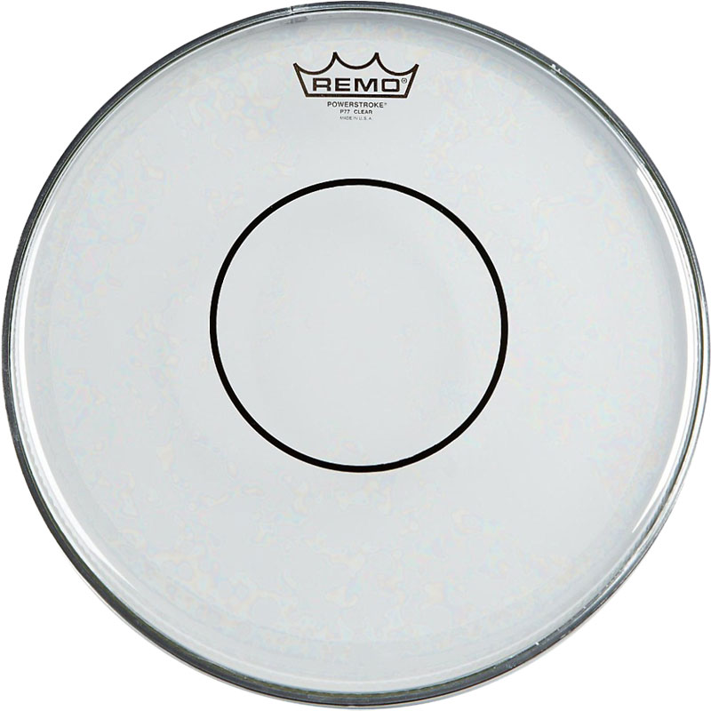 "Remo 14"" Powerstroke 77 Clear Marching Snare Drum Top (Batter) Head"