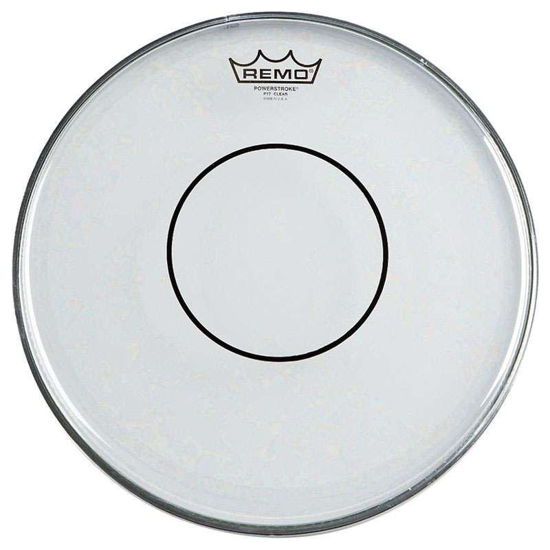 "Remo 15"" Powerstroke 77 Clear Marching Snare Drum Top (Batter) Head"