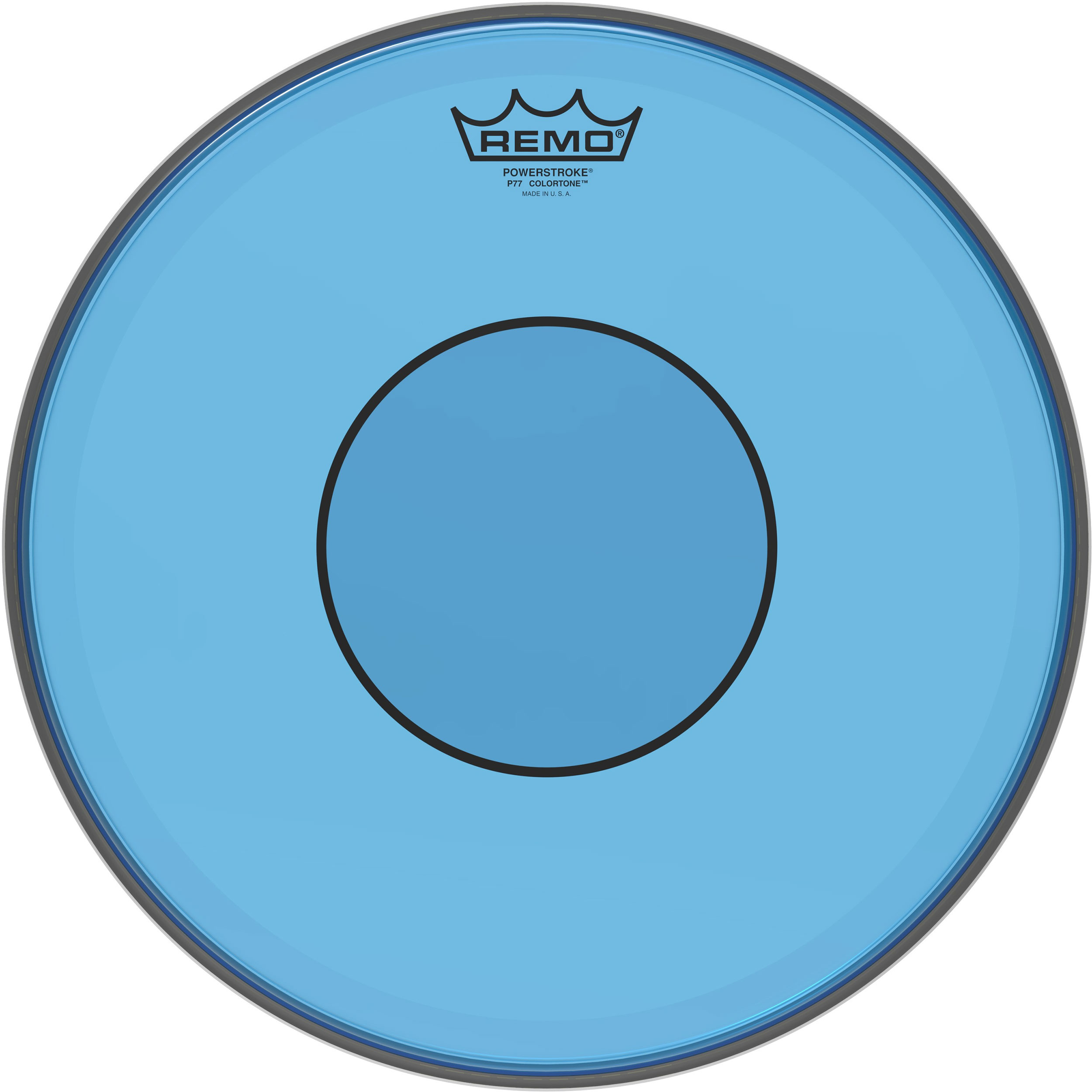 "Remo 13"" Powerstroke 77 Colortone Blue Drum Head"