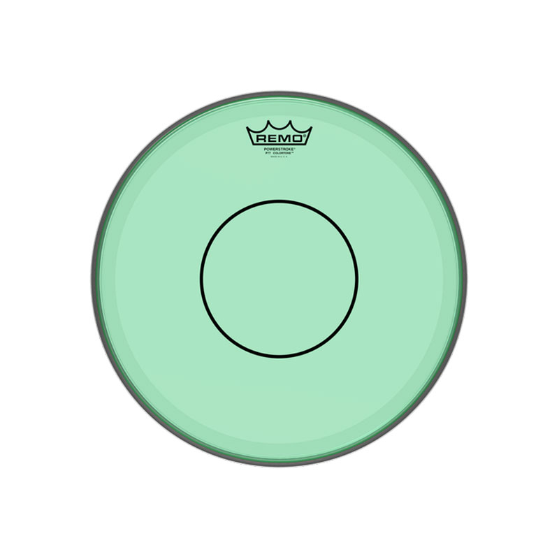 "Remo 13"" Powerstroke 77 Colortone Green Drum Head"