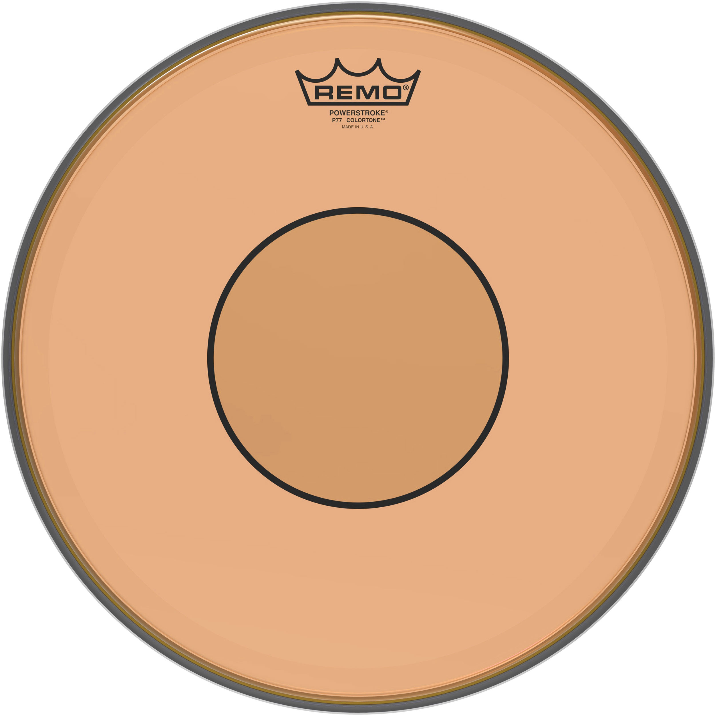 "Remo 13"" Powerstroke 77 Colortone Orange Drum Head"