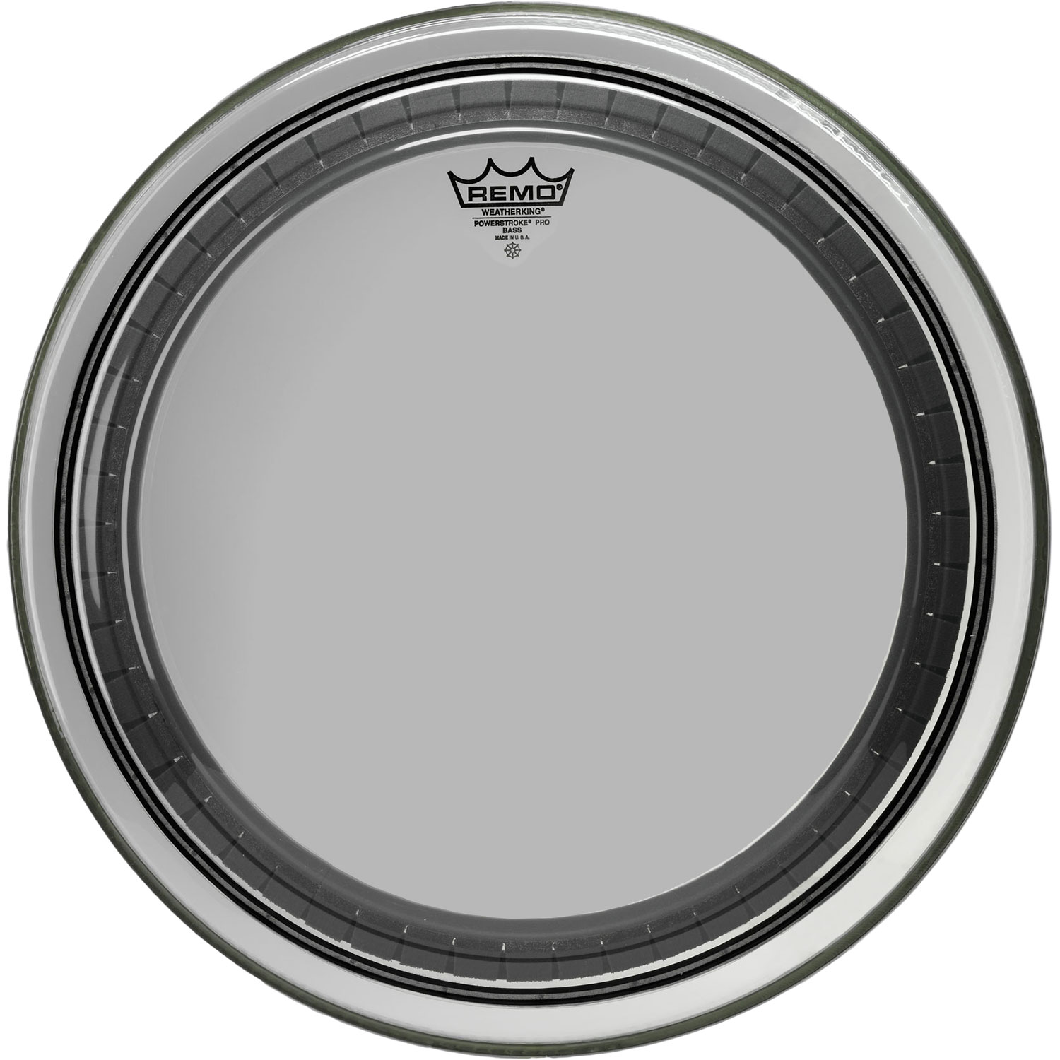 "Remo 18"" Powerstroke Pro Clear Bass Drum Head"