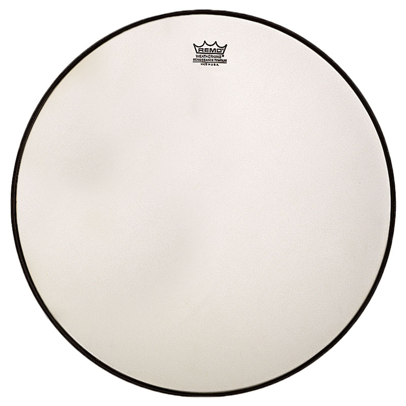 "Remo 27"" RC-Series (Renaissance) Hazy Timpani Head with Low-Profile Steel Insert Ring"