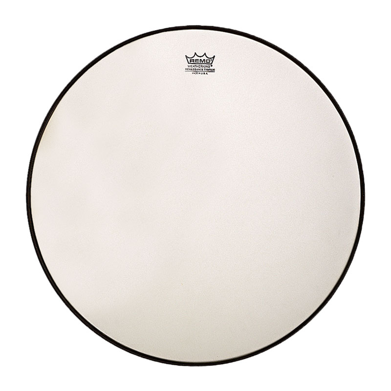 "Remo 34"" RC-Series (Renaissance) Hazy Timpani Head with Low-Profile Steel Insert Ring"