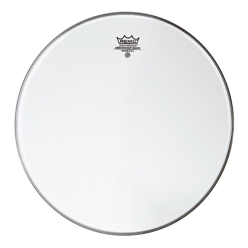 "Remo 12"" Ambassador Hazy Snare Side (Bottom) Drum Head"