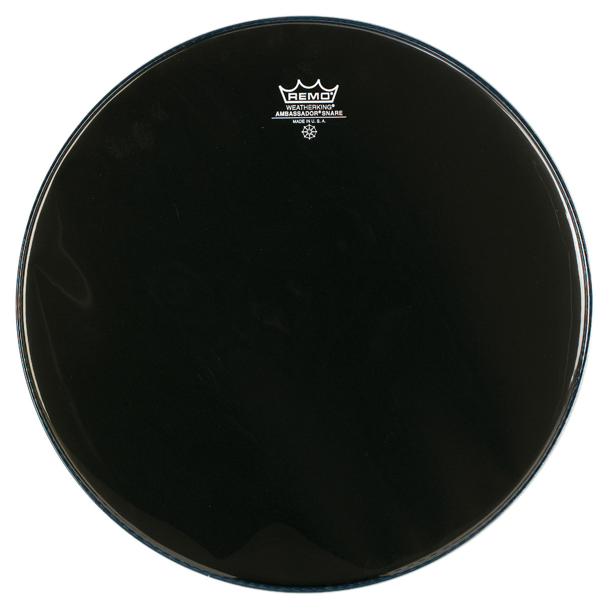 "Remo 14"" Ambassador Ebony Marching Snare Side (Bottom) Drum Head"