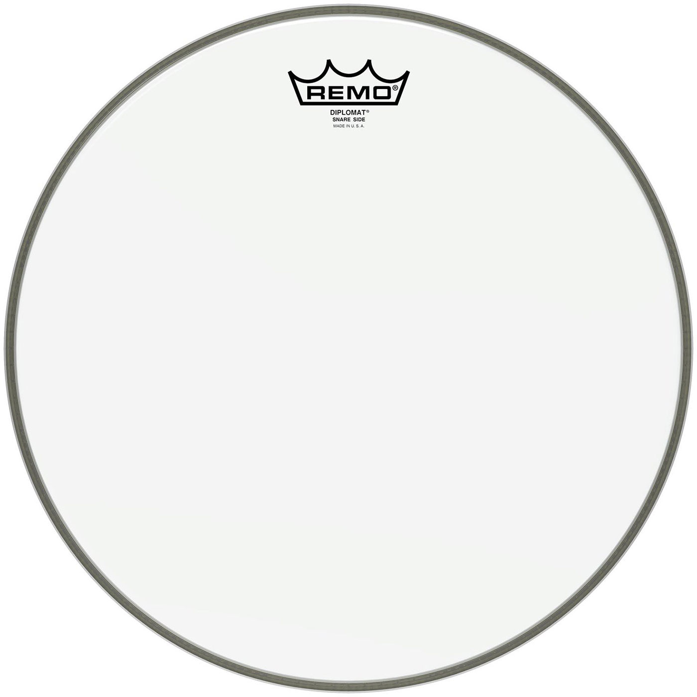 "Remo 15"" Diplomat Hazy Snare Side (Bottom) Drum Head"