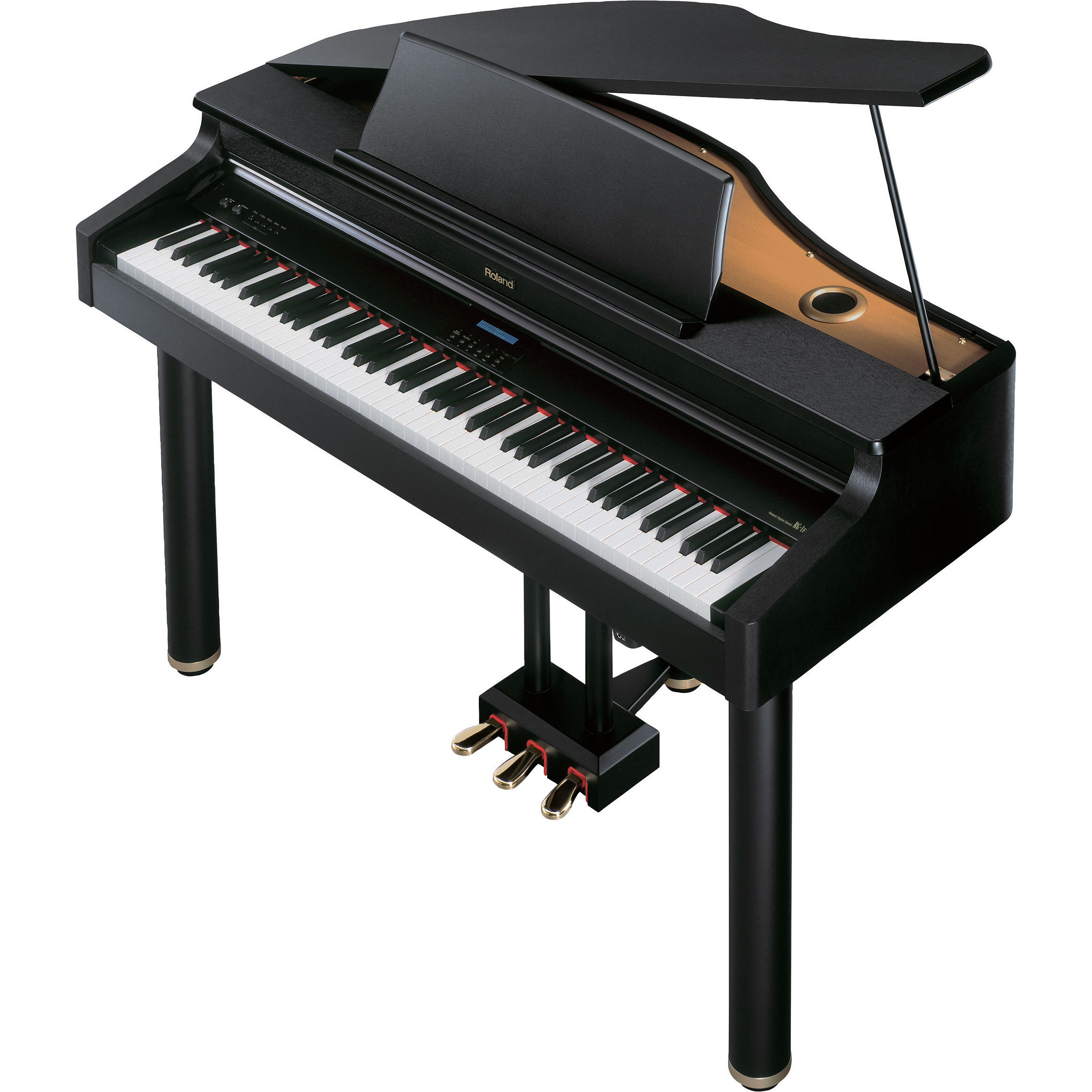 Roland rg 1f sbc supernatural digital mini grand piano for Smallest baby grand piano dimensions