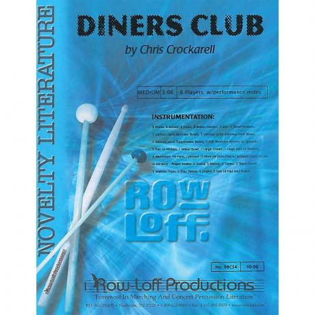 Diners Club by Chris Crockarell