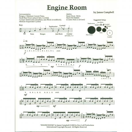 Engine Room by James Campbell