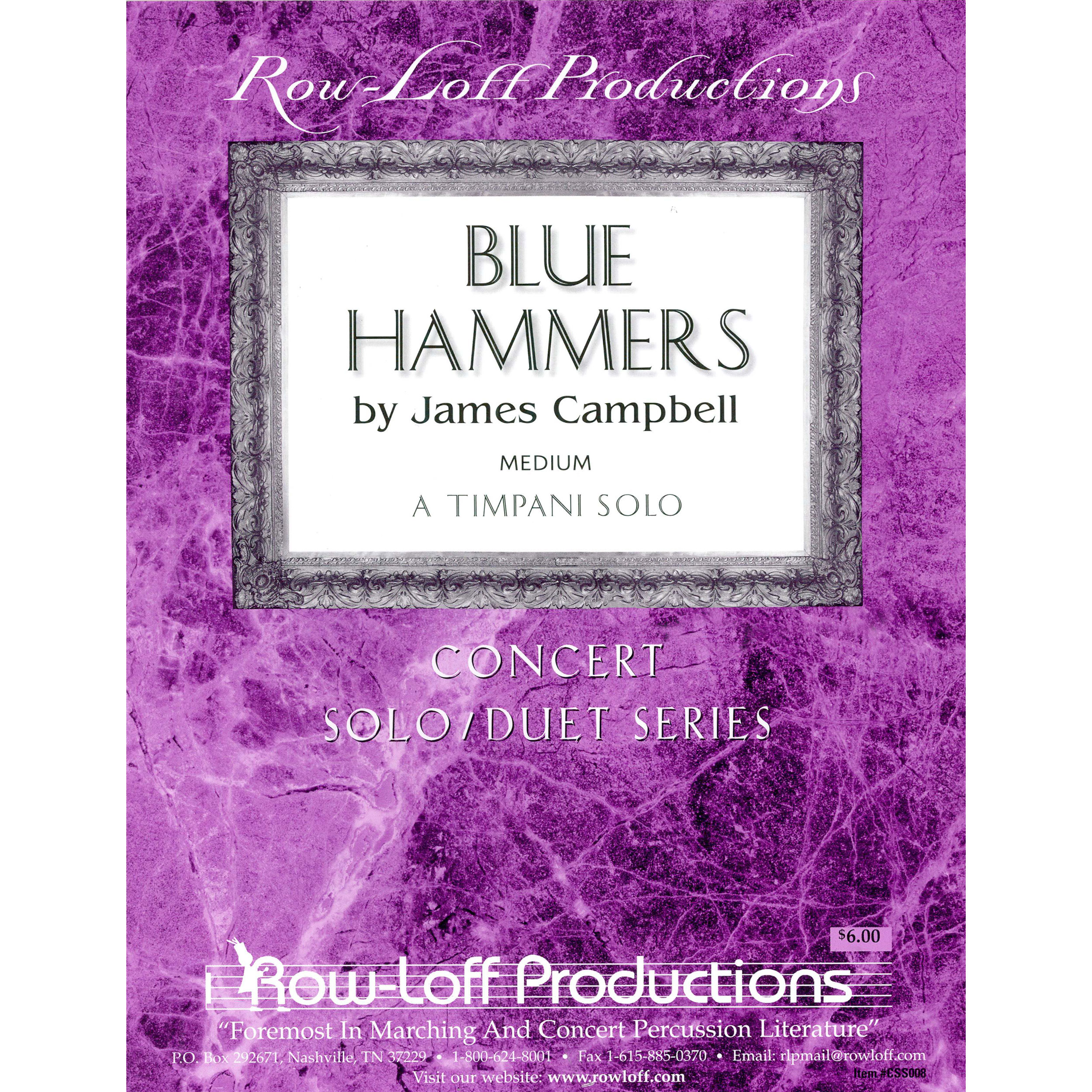 Blue Hammers by James Campbell