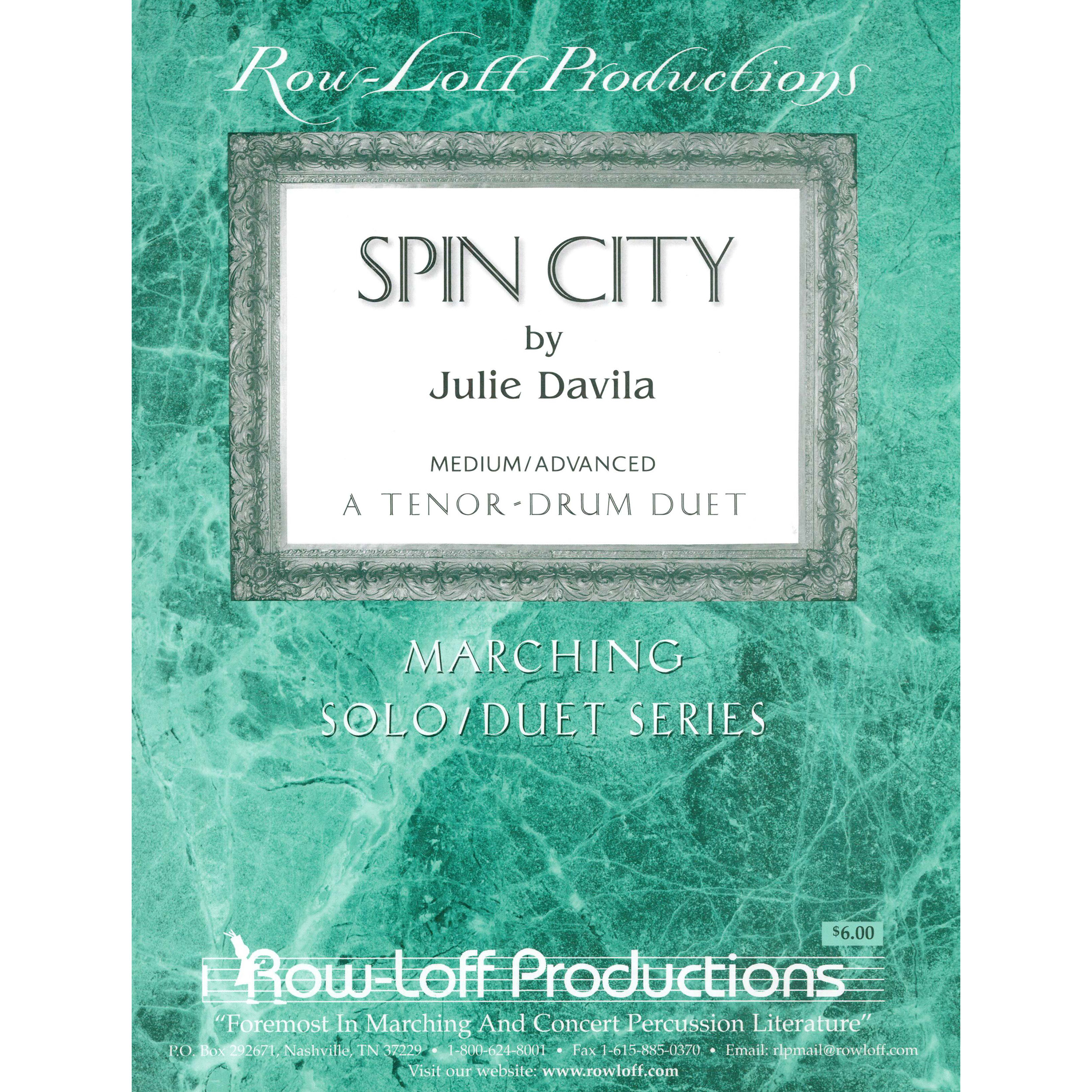 Spin City by Julie Davila