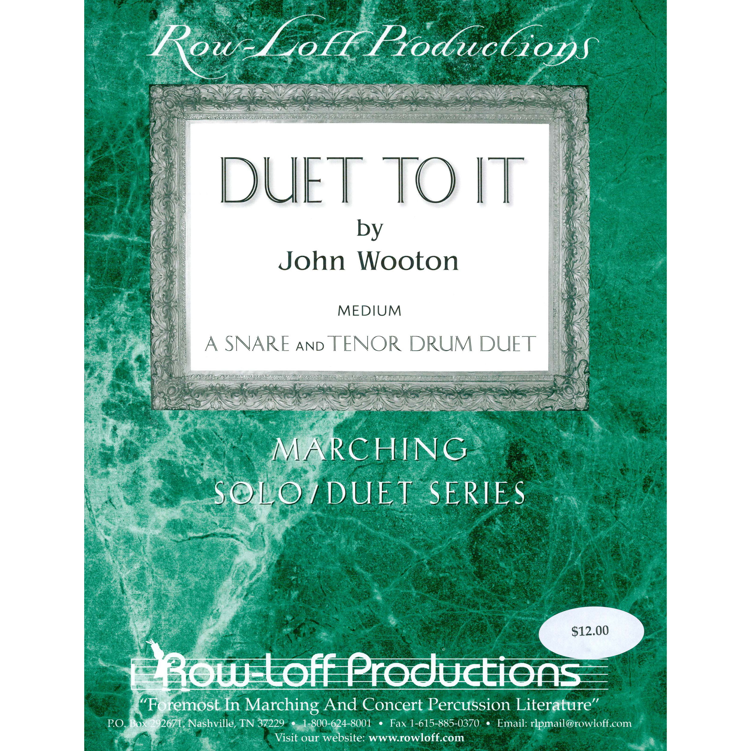Duet To It by John Wooton