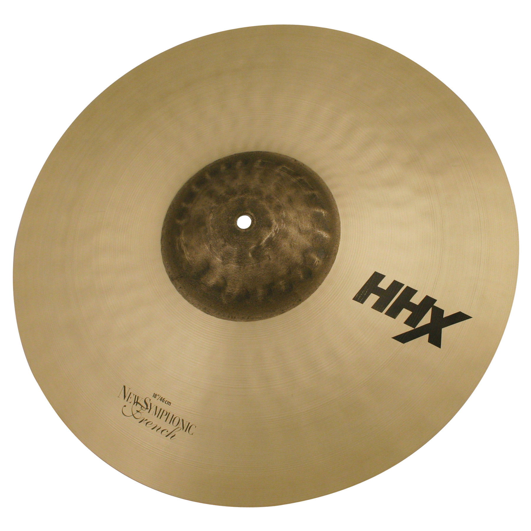 "Sabian 18"" HHX New Symphonic French Crash Cymbal Pair"