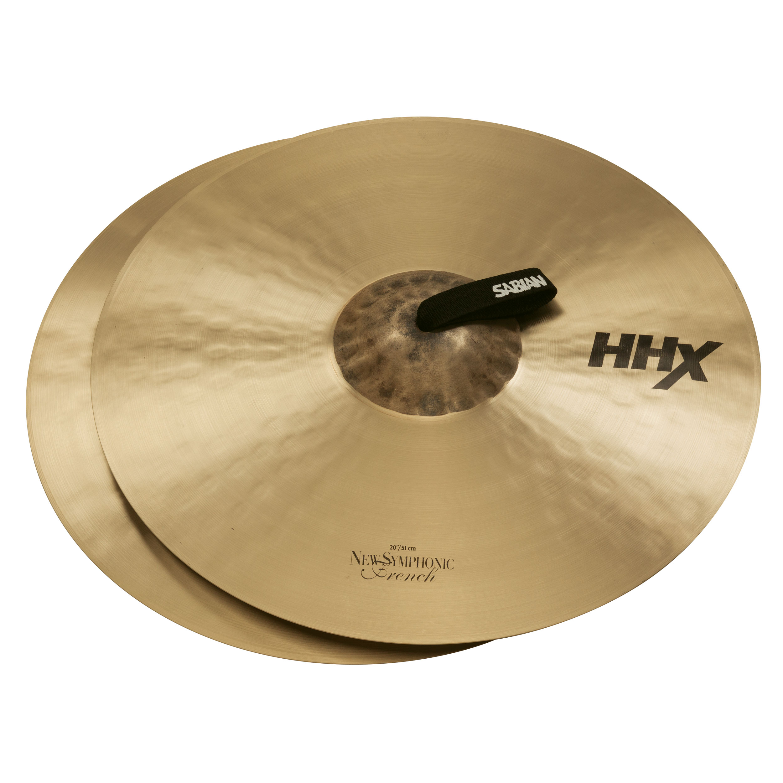"Sabian 20"" HHX New Symphonic French Crash Cymbal Pair"