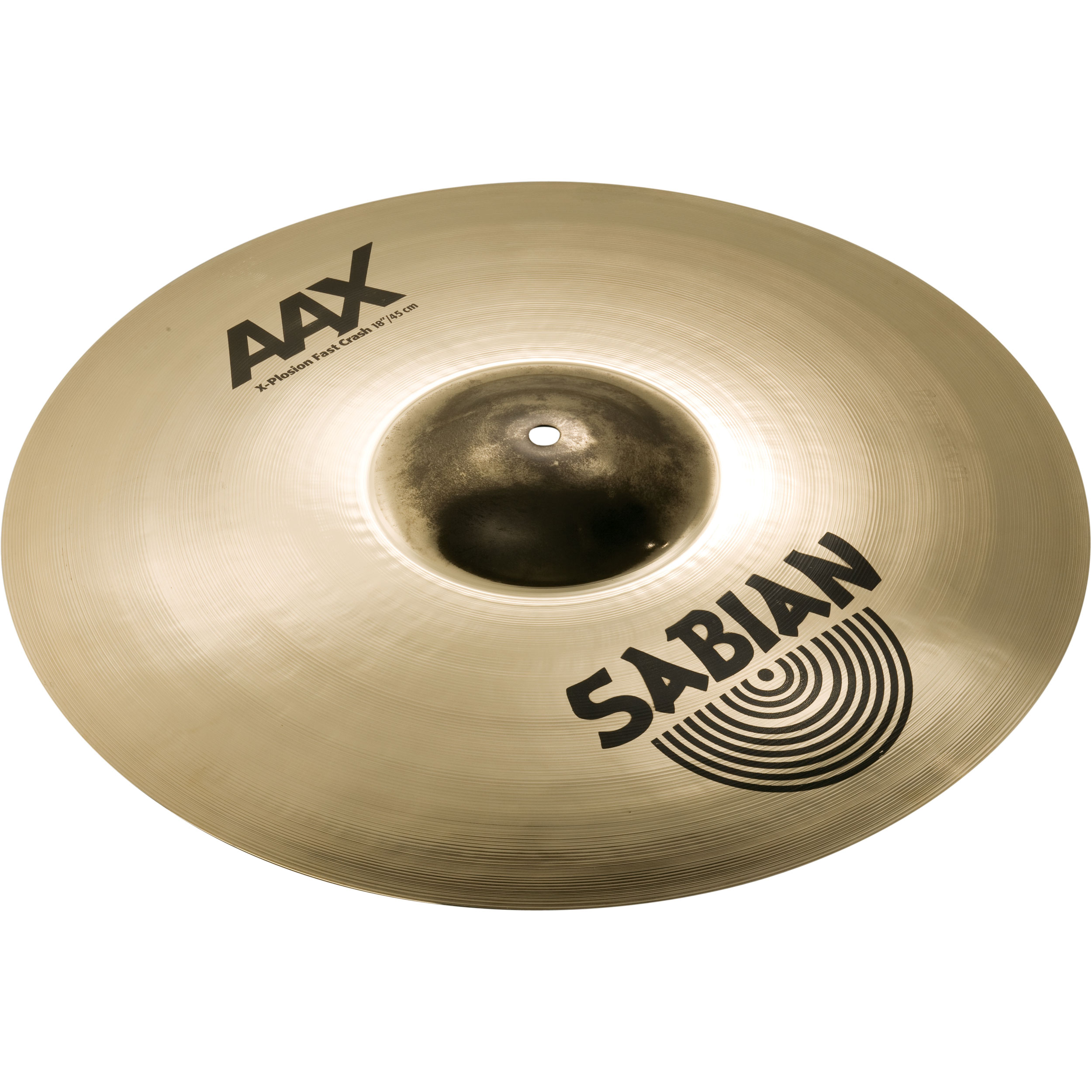 "Sabian 18"" AAX X-Plosion Fast Crash Cymbal with Brilliant Finish"