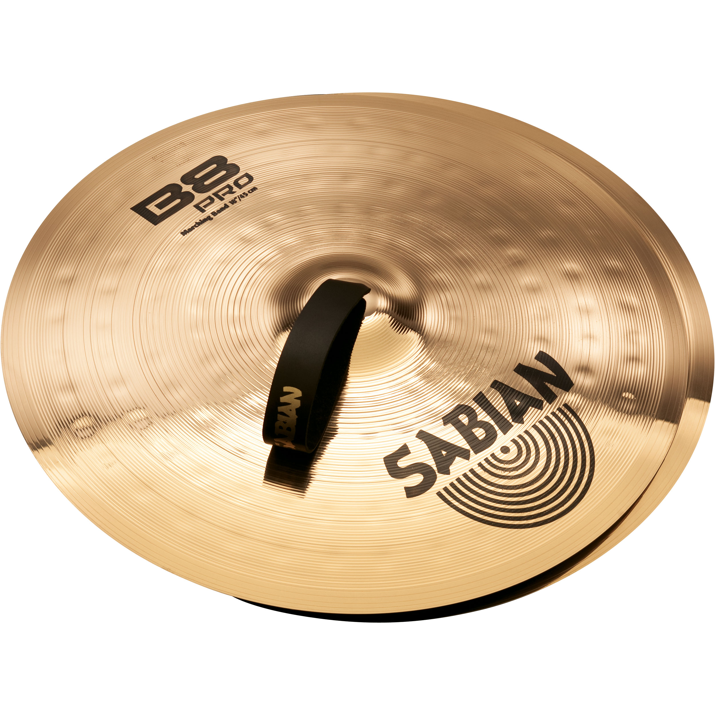 "Sabian 18"" B8 Pro Marching Band Hand Cymbal Pair"