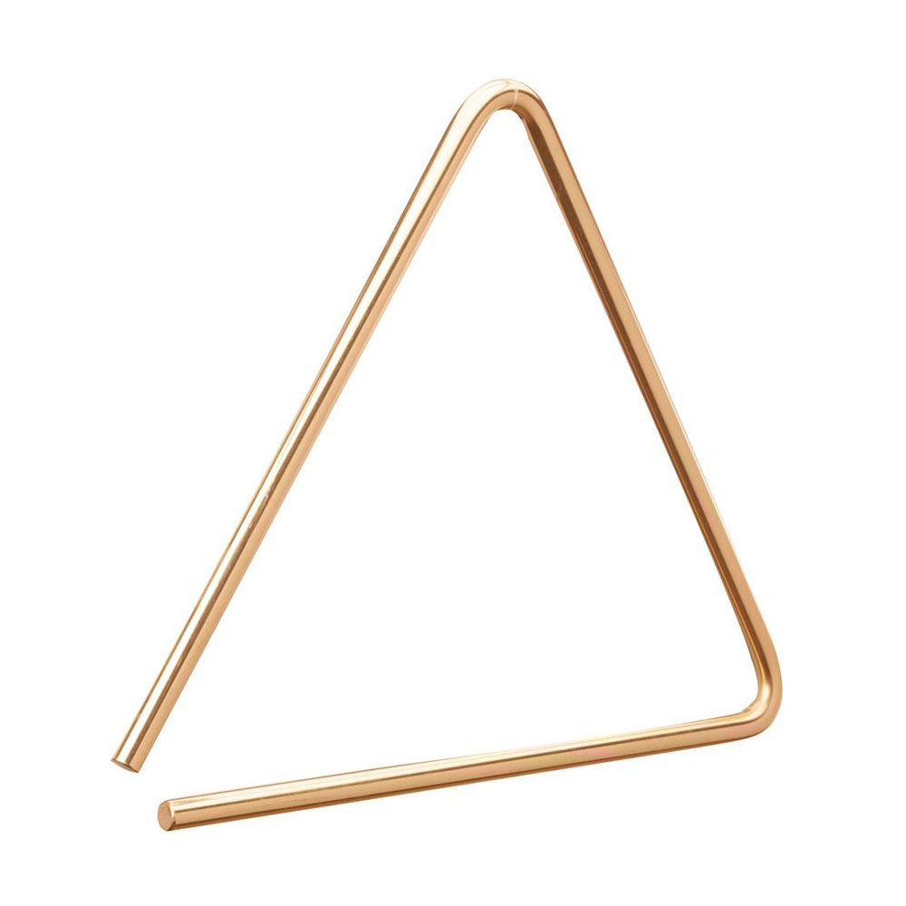 "Sabian 4"" B8 Bronze Triangle"