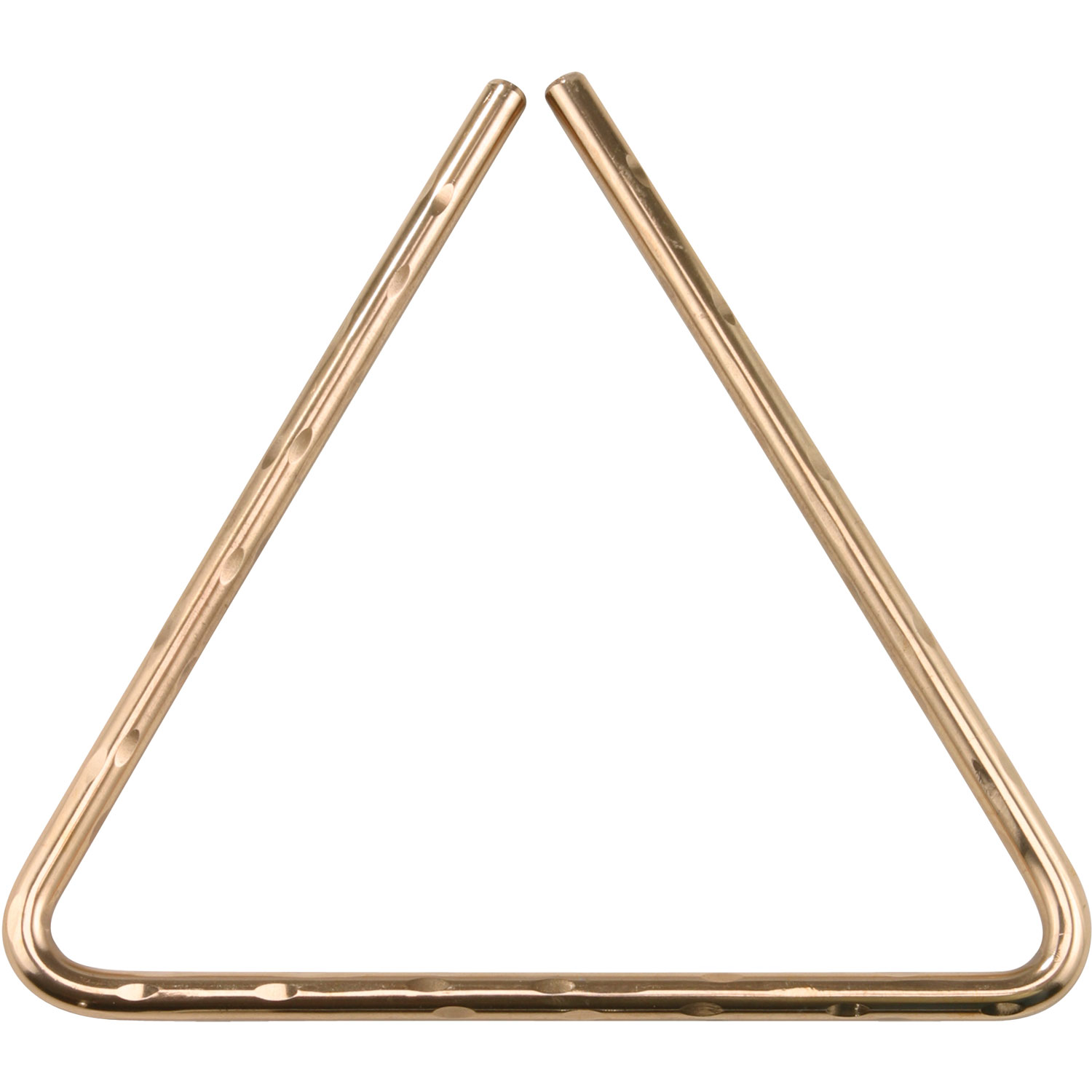 "Sabian 6"" Hand Hammered Bronze Triangle"