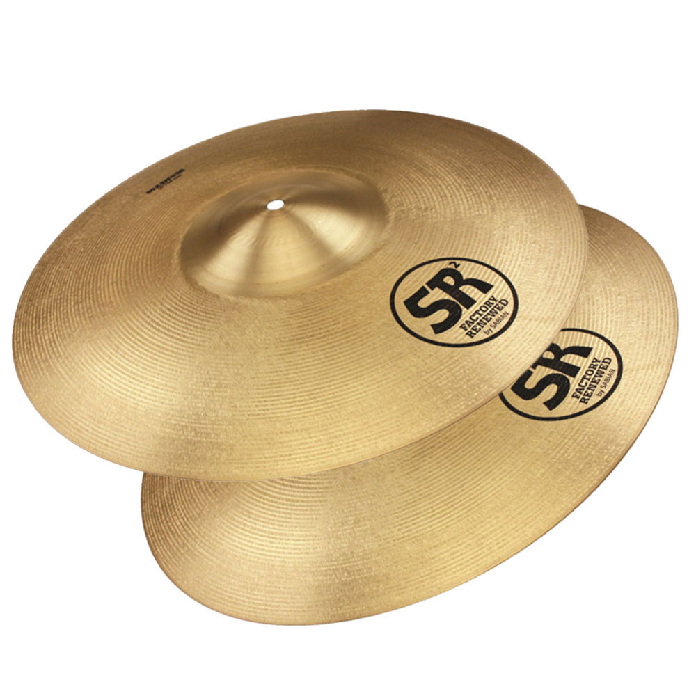 Sabian SR2 B&O 2-Piece Cymbal Box Set (Crash Pair, Suspended)