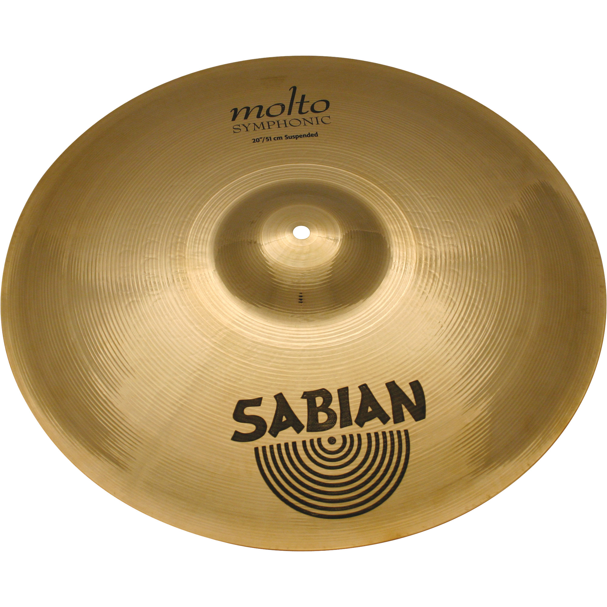 "Sabian 20"" AA Molto Symphonic Suspended Cymbal"