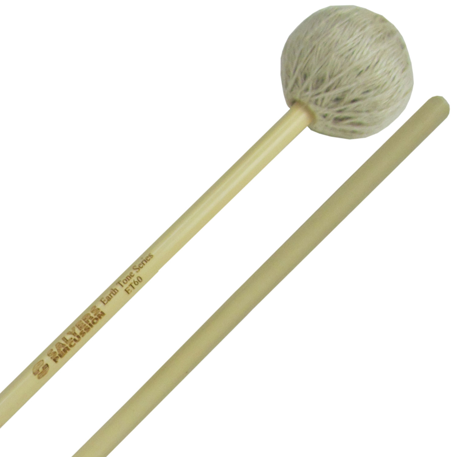 Salyers Percussion Earth Tone Medium Soft Vibraphone/Marimba Mallets
