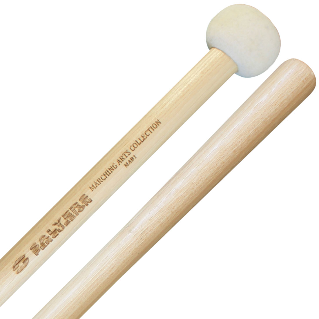Salyers Percussion MAB1 Marching Arts Collection Extra Small Marching Bass Mallets